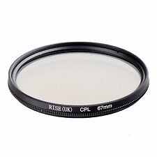 67mm Circular Polarizing CIR-PL CPL FILTER lenses for canon nikon sony lens 67mm