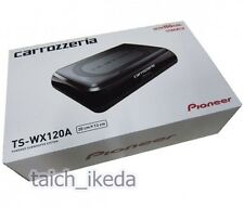 Pioneer carrozzeria TS-WX120A Under Seat Placement Slim Powered Subwoofer 150W