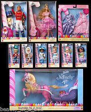 Sugarplum Princess Barbie Doll Prince Eric Kelly Candy Sleigh Nutcracker Ballet