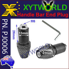 PJ0006 Handle Bar End Plugs weight Motor Dirt Bike ATV Honda Yamaha Kawasaki KTM