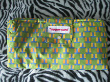 Tupperware reusable Deluxe Shopping Bag paced New 13 x 14 x 7 roomy shopping eco