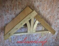 Timber Front Door Canopy Porch Bespoke Hand Made Porch