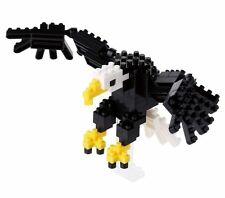 NANO BLOCKS BALD EAGLE MINI BRICKS PUZZLE (120 PIECES) NANOBLOCK NBC138
