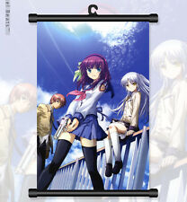 "8""*12""Home Decor Japan Anime Angel Beats! GDM Cosplay Wall Poster Scroll 30"