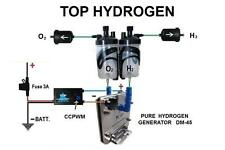 H2 Hydrogen Generator KIT DM-45 FUEL ECONOMY for cars CCPWM WITH HHO FUNCTION.