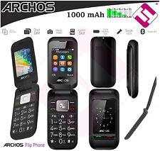 TELEFONO MOVIL LIBRE ARCHOS PERSONAS MAYORES DUAL SIM DOBLE PANTALLA CON TAPA