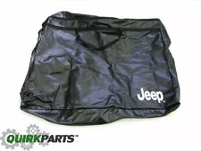 07-16 JEEP WRANGLER SOFT TOP HALF DOOR UPPER WINDOW STORAGE CARRY BAG NEW MOPAR