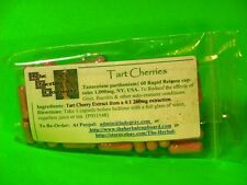 Tart Cherry Capsules Gout Uric Acid Crystal Fighter 60 caps 1000mg  $6.29
