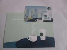 Starbucks New York City Gift Card NYC Skyline Freedom Tower Rare NEW