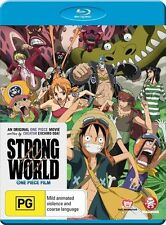 One Piece Film: Strong World NEW B Region Blu Ray