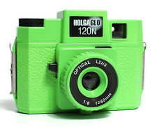 Holgaglo Neon Green 120 N Glow in Dark  Camera NEW Holga 304-120 FREE SHIPPING