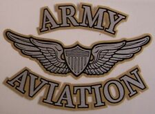 Window Bumper Sticker Military Army Aviation Officer Wings NEW Decal