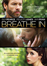 Breathe In (DVD, 2014) Like New in Widescreen Version with Felicity Jones