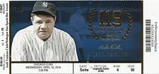 2014 YANKEES VS CUBS JETER LAST YEAR SUITE TICKET STUB 4/16 BABE RUTH