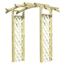 Pergola in legno nordico 180x65x230cm arredo esterno giardinaggio esterno 28002