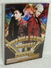 DONGHAE & EUNHYUK I WANNA DANCE 2013 Taiwan Ltd CD+DVD+Card (Super Junior)