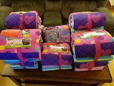 Shopkins Full/Queen Quilt & Shams FREE Season 6 Happy Places Doll/2 & 5 pack set