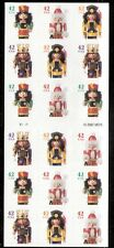 2008 4371b Holiday Nutcracker ATM pane of 18 #4368-4371