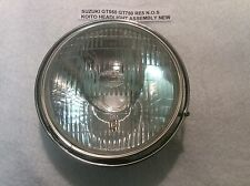 SUZUKI RE5 GT750 GT550 LMAB 74-77 NOS HEADLIGHT ASSEMBLY KOITO GENUINE SUZUKI