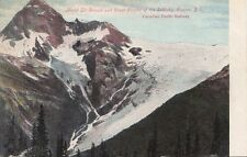 B77434 mont sir donald and great glacier of the sel canada scan front/back image