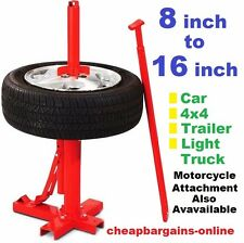TYRE CHANGER TYRE FITTING MACHINE STAND BEAD BREAKER MACHINE CAR 4x4 LIGHT TRUC