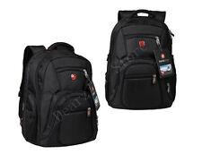 Swiss gear men Laptop Notebook Shoulder Bag Black travel school army  Backpack