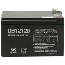 UPG 12v 12Ah 12 volt 12 Amp-hr SLA AGM Sealed Lead Acid Batteries NEW