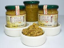 Patè Crema di Olive Verdi Calabresi in olio 190gr Ottimo su Bruschette