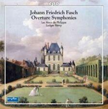 Johann Friedrich Fasch: Overture Symphonies, New Music