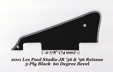 Les Paul LP Jr Blk 5-Ply P-90's Pickguard W/Bracket for Gibson Epiphone Project