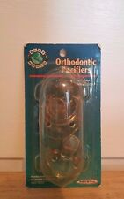 NIP! 3 Baby World Orthodontic Pacifiers. Style# 6507