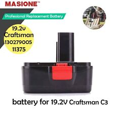 2000mAh 19.2V DieHard Compact Battery for Craftsman C3 19.2 Volt Cordless D