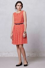 Anthropologie Hi There by Karen Walker Prosecco Dress Holiday Xmas Size 4 Small