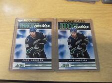 LOT OF (2) CODY HODGSON 2010-11 SCORE #533 HOT ROOKIES