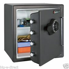 NEW - Large Sentry Fire Proof Safe Big Bolts 1.2 Cubic Feet Combination Lock Box