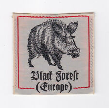 SCOUTS OF CANADA - CANADIAN ARMED FORCES EUROPE BLACK FOREST EUROPE SCOUT Patch