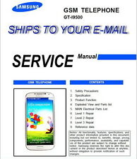 Samsung Galaxy S4 GT-I9500 Service Repair Technical Manual in PDF Level 1,2 & 3