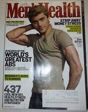 Men's Health Magazine Zac Efron & World's Best Abs May 2012 032415R