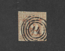 GERMANY-GERMAN STATES - THURN & TAXIS - #17 - USED - 1863