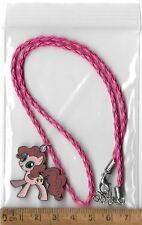 Pinky Pie My Little Pony Equestria Girls Hot Pink Dress Up Costume Necklace