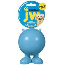JW Bad Cuz Durable Rubber Squeaky Dog Toy - Serious Squeaker! Large