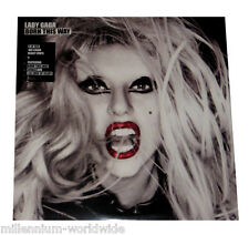 "SEALED & MINT - LADY GAGA - BORN THIS WAY - DOUBLE 12"" VINYL LP - GATEFOLD COVER"