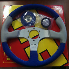 MOMO STEERING WHEEL RACE EVO BLUE