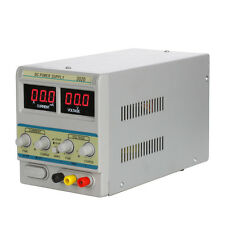30V 2A 110V Variable DC Power Supply Precision Adjustable Digital Lab Grade 302D