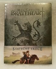 Braveheart STEELBOOK Blu Ray Filmarena RARE Sold Out Sealed Region Free Embossed