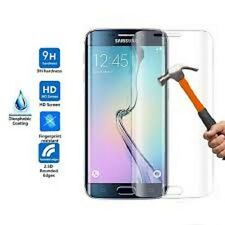 Curved 3D Tempered Glass Screen Protector cover 4 Samsung Galaxy S7 Edge Clear
