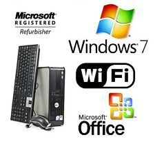 QUAD CORE DELL DESKTOP COMPUTER 2.66GHZ / 16GB / 1TB WINDOWS 7 PRO WIFI + OFFICE