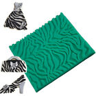 Zebra Silicone Mold Fondant Cake Decorating Cooking Tools Cupcake Chocolate NEW