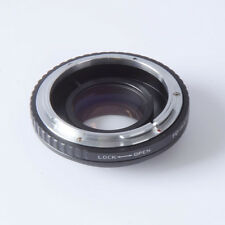 Canon FD Lens Reducer speed booster turbo adapter to m4/3 GH4 GF6 GX1 EM5 EM1