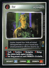 STAR TREK CCG THE BORG RARE CARD FIRST